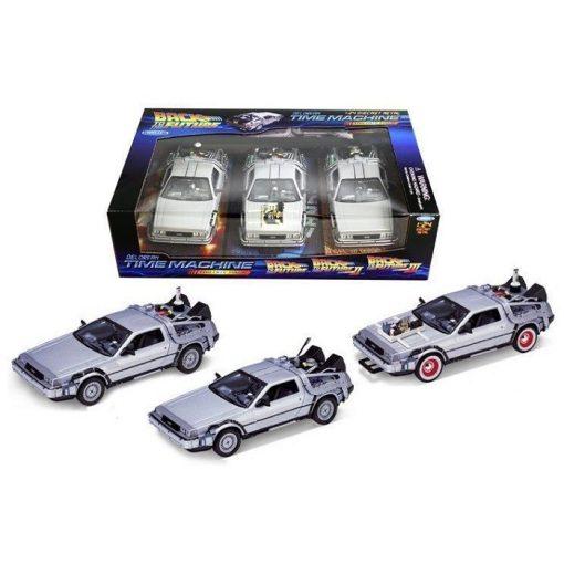 DeLorean Time Machine I.-II.-III.