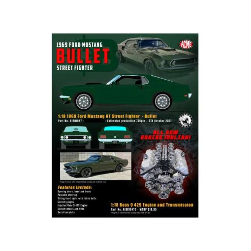 Ford Mustang Mach I Bullet Street Fighter