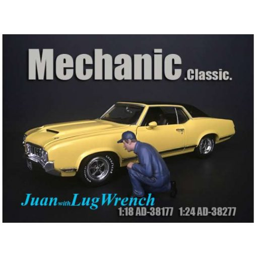 American Diorama Figure (Juan with Lug Wrench)
