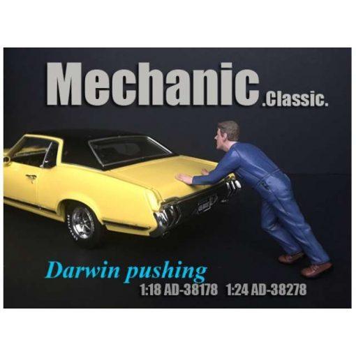 American Diorama Figure (Darwin pushing)
