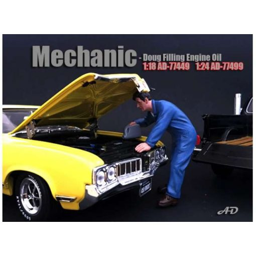 American Diorama Figure (Doug Filling Engine Oil)
