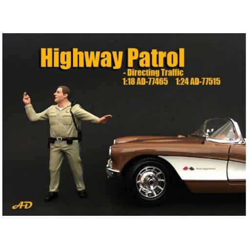 American Diorama Figure  (Police Series - Highway Patrol Figure III)