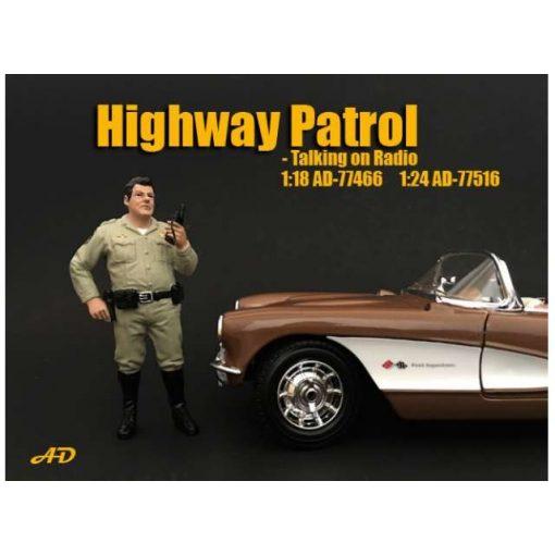 American Diorama Figure  (Police Series - Highway Patrol Figure IV)