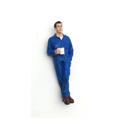 American Diorama Figure (Larry Taking a Break)