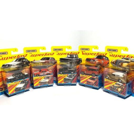 Gyűjtői sorozat (Mix A2 Matchbox Superfast assortment)