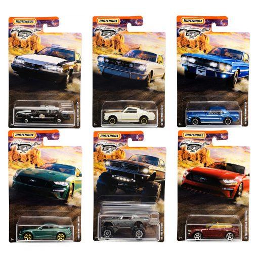 Gyűjtői sorozat (Ford Mustang assortment #1)