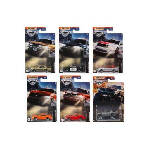 Gyűjtői sorozat (Ford Mustang assortment #2)