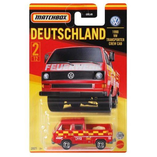 VW Transporter Crew Cab (Best of Germany assortment #1)